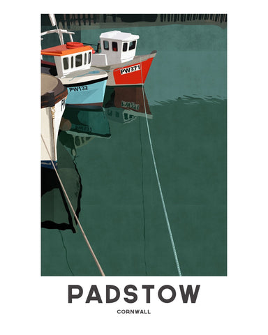 'Padstow Harbour' by Jetty Street Press