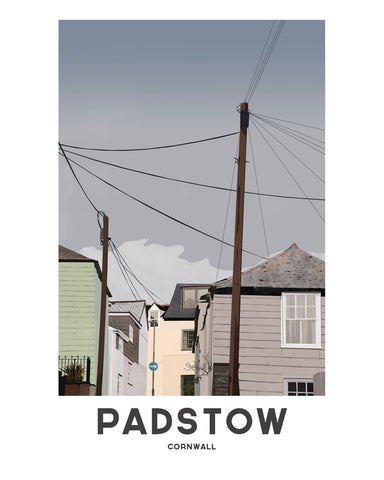 'Padstow Town' by Jetty Street Press