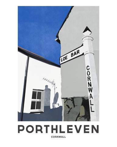 'Porthleven Loe Bar' by Jetty Street Press
