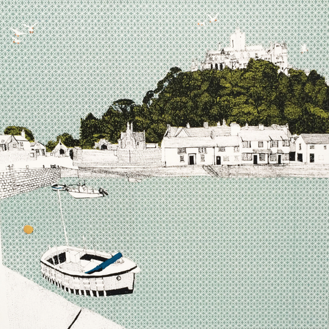 'St Michael's Mount' by Clare Halifax