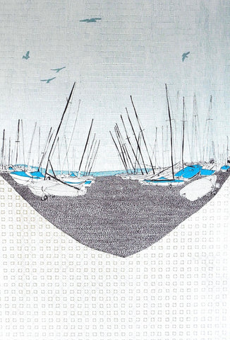 'Whitstable Boats' by Clare Halifax
