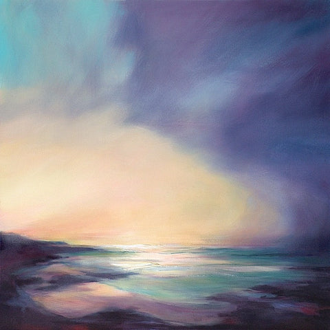 'Back to the Point' (print on canvas) by Jen Larkin