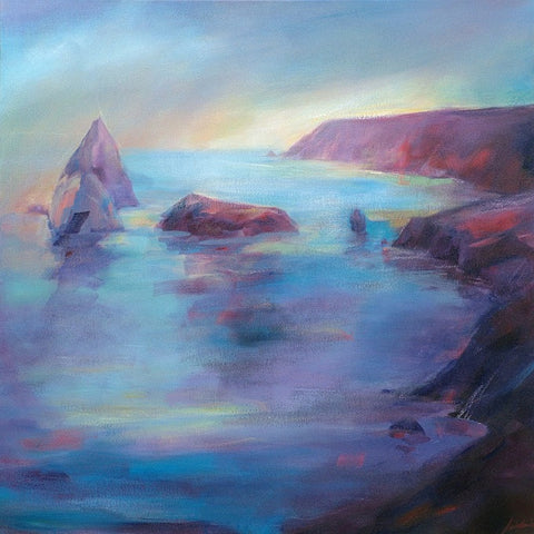 'Travelling Light, Kynance' (print on canvas) by Jen Larkin