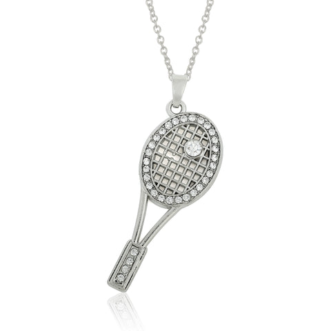 Diamond Accent Tennis Pendant
