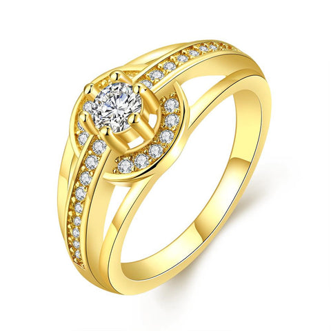 One Love Gold Plated Ring