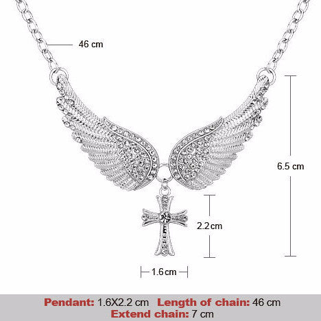 Wings of an Angel Jewelry Set
