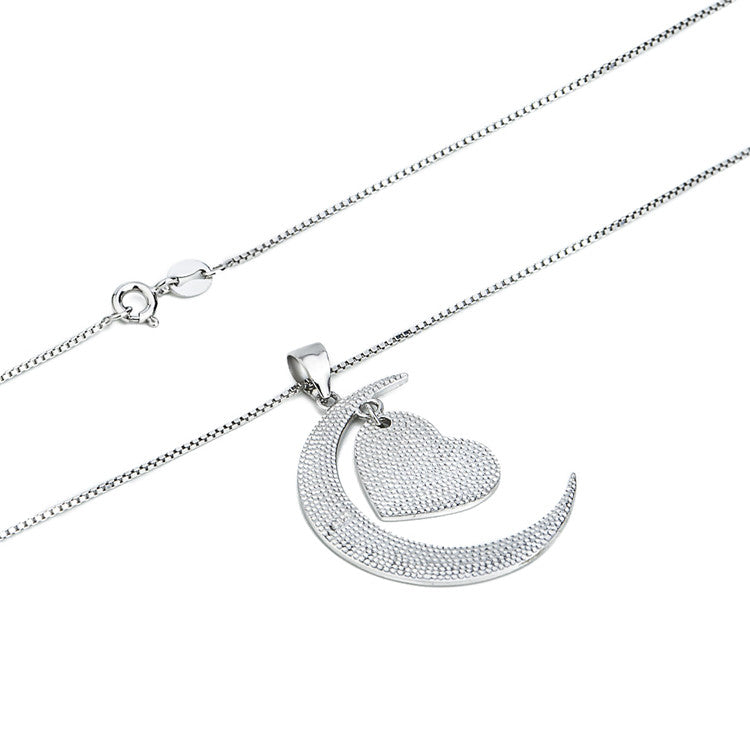 I Love You to The Moon abd Back Necklace
