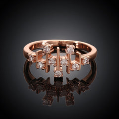 Matrix Rose Gold Plated Ring