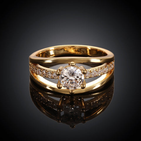 Venusian Gold Plated Ring