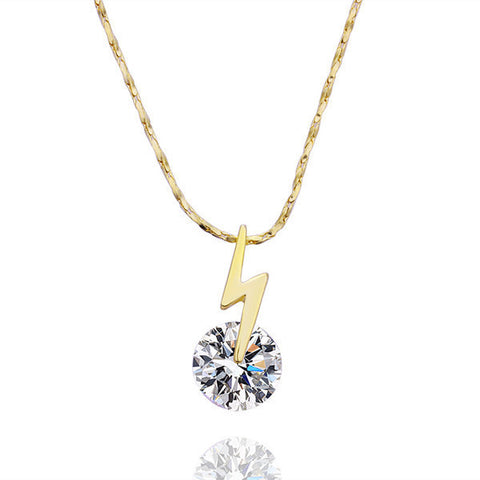 Blitz Swarovski Crystal Necklace