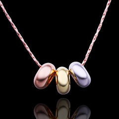 Lucky Beads Rose Gold Plated Necklace