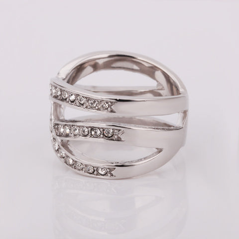 Infinite Love White Gold Ring