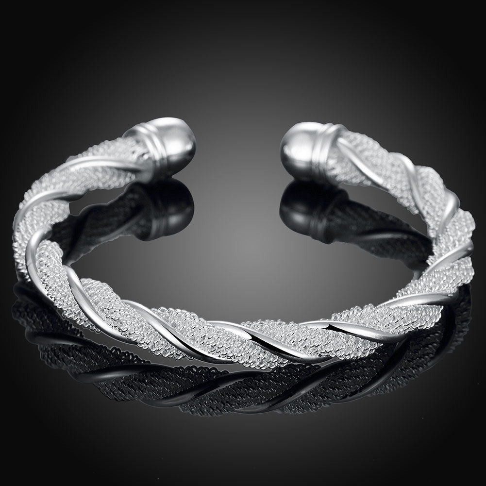 Twisted Wire Mesh Bracelet