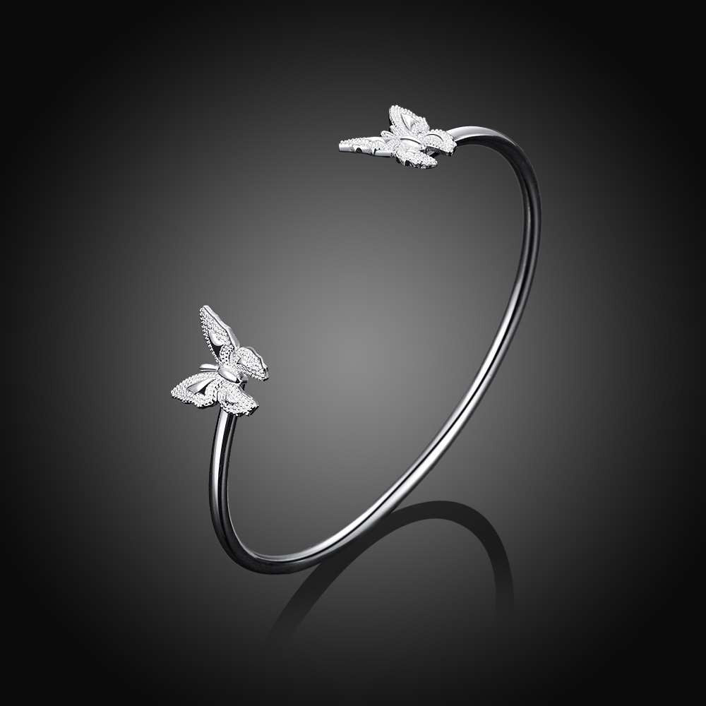 Open Butterfly Bangle