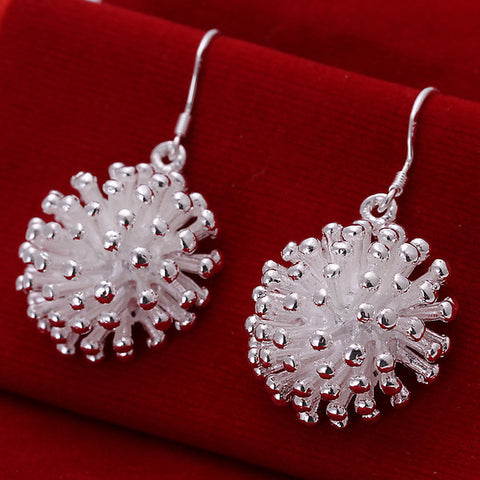 Fireworks Silver Earrings