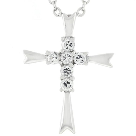Coupled Cross Pendant