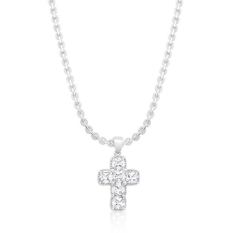 Contemporary Cross Pendant