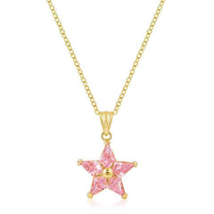 Goldtone Fancy Star Pendant