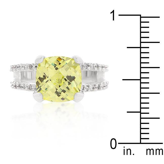 Fabulous Peridot Engagement Ring