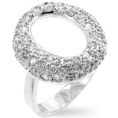 Pave Hooplet Ring