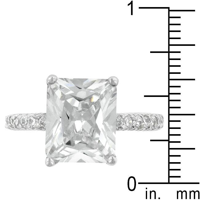 Radiant Cut Engagement Ring