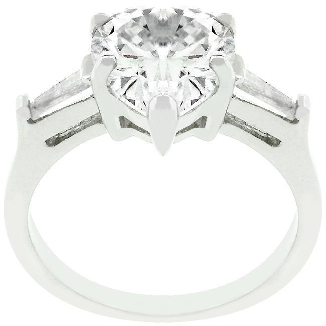 Heart Triplet Ring