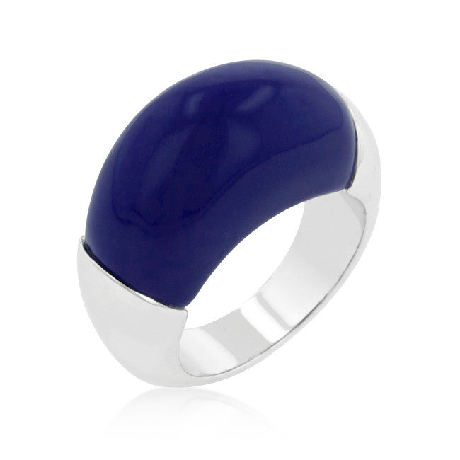 Big Blue Cocktail Ring