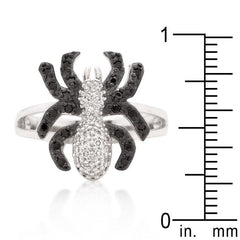 Cubic Zirconia Spider Fashion Ring