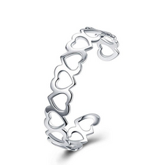 Family Loving Hearts Bracelet