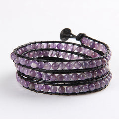 Light Purple Wrap Bracelet