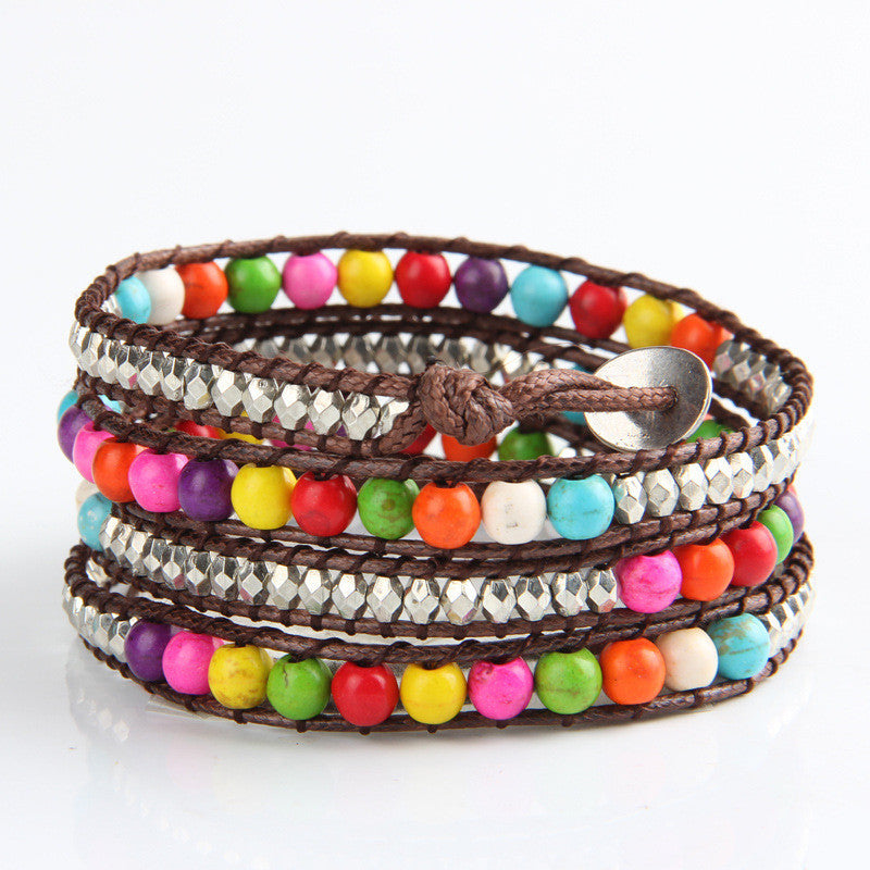 Happy Garden Wrap Bracelet