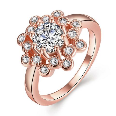 Starry Night Rose Gold Plated Ring