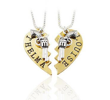Thelma & Louise BestFriends 2 piece Pendant and Necklaces