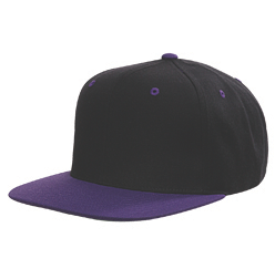 Purple & Black Snapback