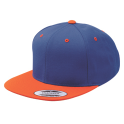 Royal & Orange Snapback
