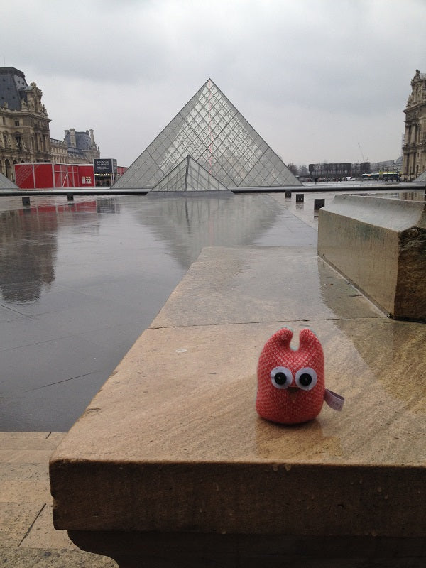 Oliver Owl at The Louvre