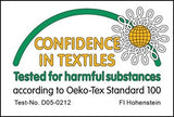 Standard 100 OEKO-TEX cotton.