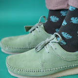 Men's Cheese Plant Cotton Ankle Socks