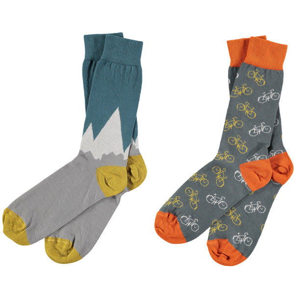 Mountain Bike Bundle - Men's Cotton Ankle Sock
