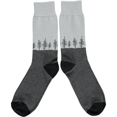 ANKLE SOCKS COTTON MENS - forest grey