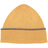 Golden Yellow Lambswool Beanie