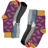 Adventure Collection - Women's Cotton Ankle Sock 3 Pack - SAVE 20%