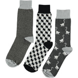 Black & White Bundle - Men's Cotton Ankle Sock