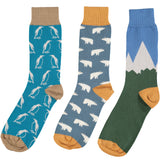 Cold Climate Collection - Men's Cotton Ankle Sock 3 Pack - SAVE 20%