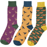 Countryside Collection - Men's Cotton Ankle Sock 3 Pack - SAVE 20%