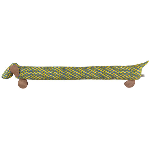 yellow lavdender filled draught excluder