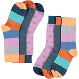 Feline Fun Collection - Women's Cotton Ankle Sock 3 Pack - SAVE 20%