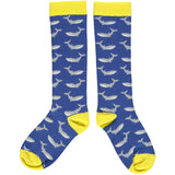 Whale Kids' Cotton Knee Socks