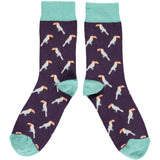 Ladies Toucan Cotton Ankle Socks