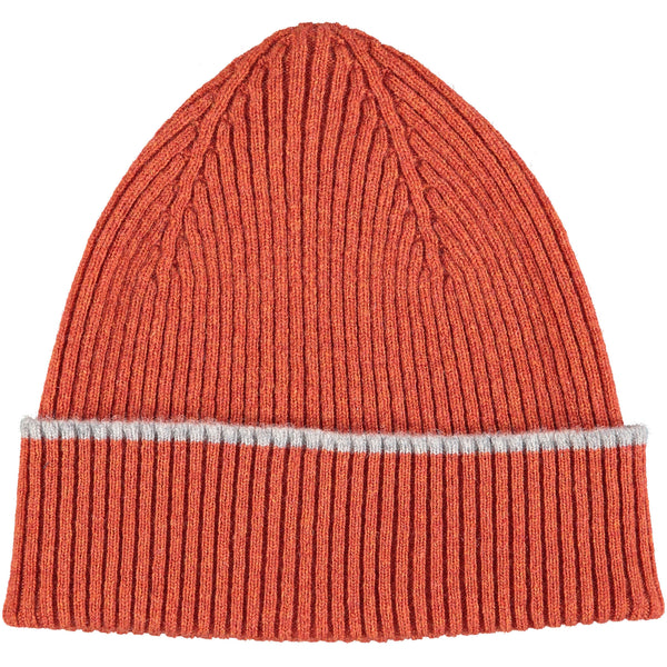 Rusty Orange Lambswool Beanie